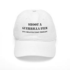 Guerrilla film therapy Baseball Cap