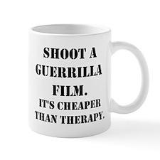 Guerrilla film therapy Mug