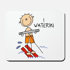 I Waterski Mousepad