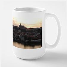 Prague Castle at Sunset Mug