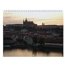 Prague Castle at Sunset Wall Calendar
