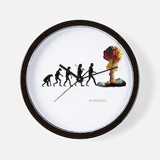 mans fate Wall Clock