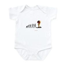mans fate Infant Bodysuit
