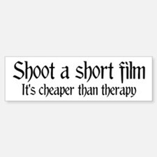 Short film therapy Bumper Bumper Bumper Sticker