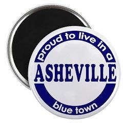Asheville: Blue Town Magnet
