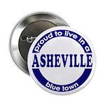 Asheville: Blue Town Button