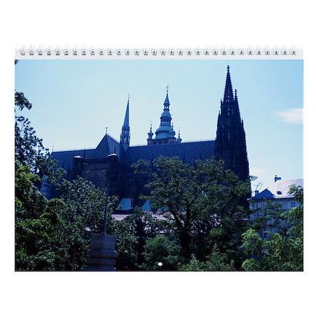 Prague Castle Wall Calendar
