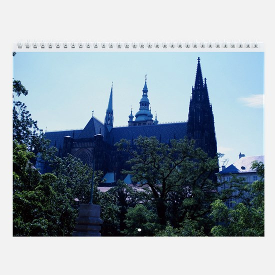 Prague Castle Wall Calendar