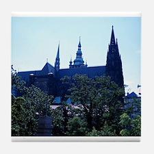 Prague Castle Tile Coaster