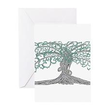 Unique Tree life Greeting Card