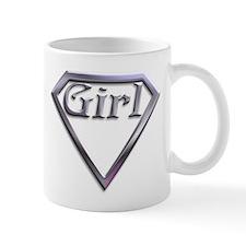 Super Girl Silver Mug