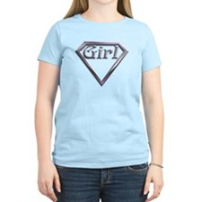 Super Girl Silver T-Shirt