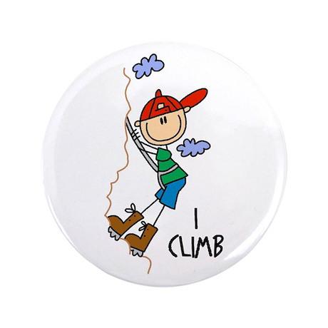 "I Climb 3.5"" Button (100 pack)"