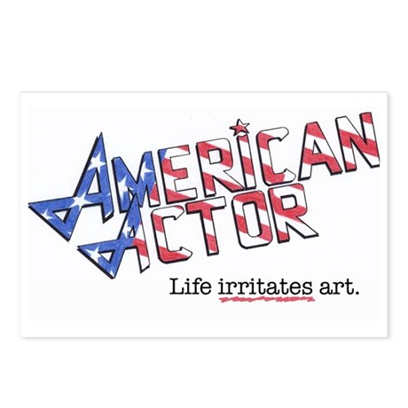 American Actor Postcards (Package of 8)