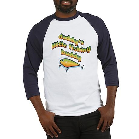 DADDY'S LITTLE FISHING BUDDY Baseball Jersey
