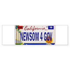 Gavin Newsom for Governor of Bumper Bumper Sticker