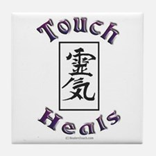 Touch Heals Tile Coaster