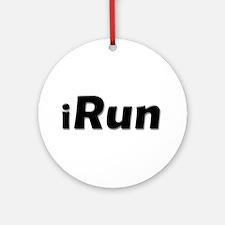 iRun, shadow Ornament (Round)