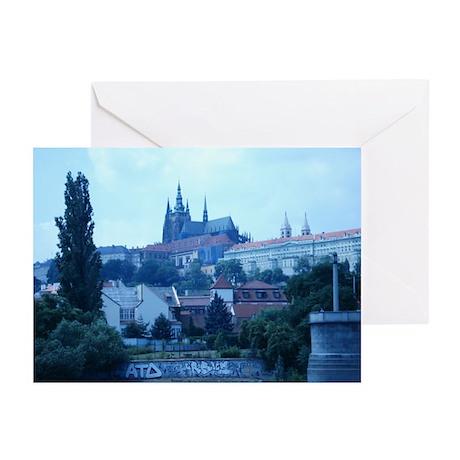 Prague Castle Greeting Cards (Pk of 10)