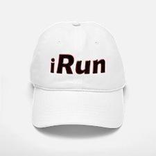 iRun, red trim Baseball Baseball Cap