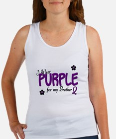 I Wear Purple For My Brother 14 Women's Tank Top