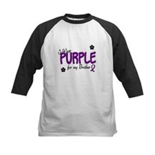 I Wear Purple For My Brother 14 Tee