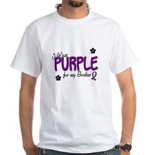 I Wear Purple For My Brother 14 Shirt