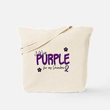 I Wear Purple For My Grandma 14 Tote Bag