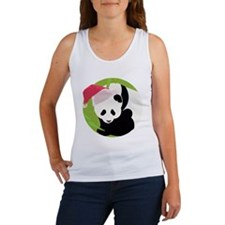 Panda Bear Christmas Women's Tank Top