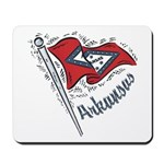 Arkansas Pride! Mousepad