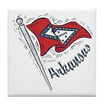 Arkansas Pride! Tile Coaster