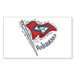 Arkansas Pride! Rectangle Sticker 10 pk)