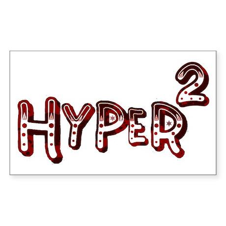 Riyah-Li Designs Hyper Squared Rectangle Sticker