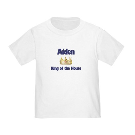 Aiden - King of the House Toddler T-Shirt