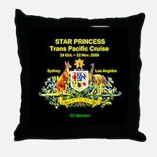 Star SYD-LA 2009 Throw Pillow