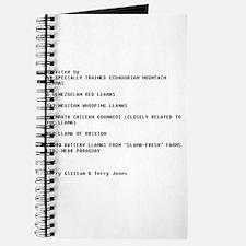 Unique Monty Journal