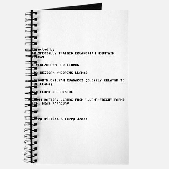 Cool Monty python Journal