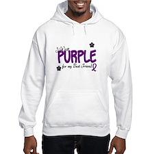 I Wear Purple For My Best Friend 14 Hoodie
