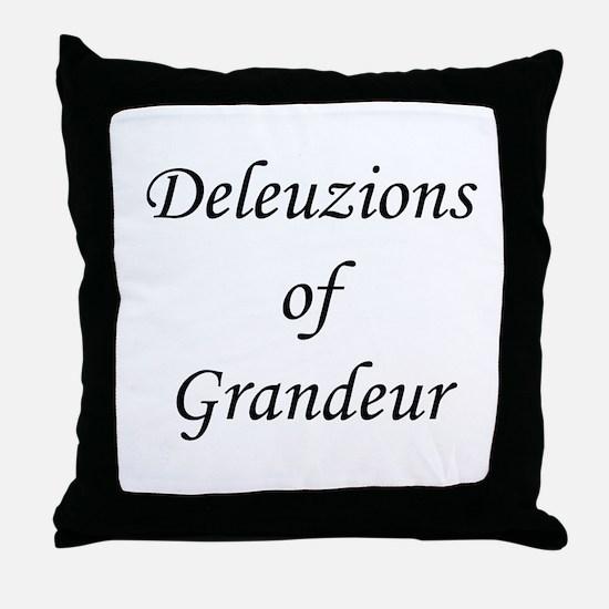 Gilles Deleuze Throw Pillow