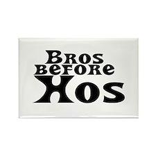 Bros Before Hos Rectangle Magnet (10 pack)