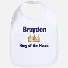 Brayden - King of the House Bib