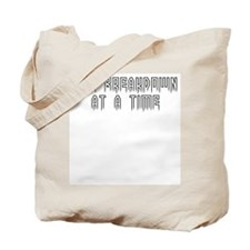 One breakdown at a time Tote Bag
