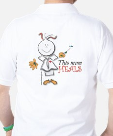 This mom heals Golf Shirt