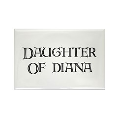 Daughter of Diana - Rectangle Magnet (10 pack)