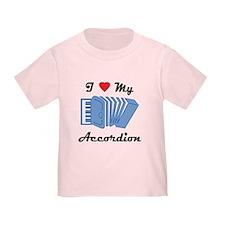 I Love My Accordion T