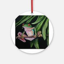 Fun frogs #1 Ornament (Round)