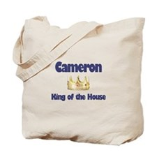 Cameron - King of the House Tote Bag
