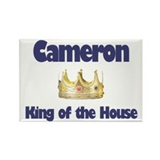 Cameron - King of the House Rectangle Magnet