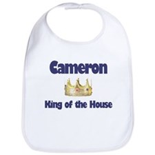 Cameron - King of the House Bib