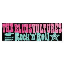 Blues Vultures Single Bumper Bumper Sticker
